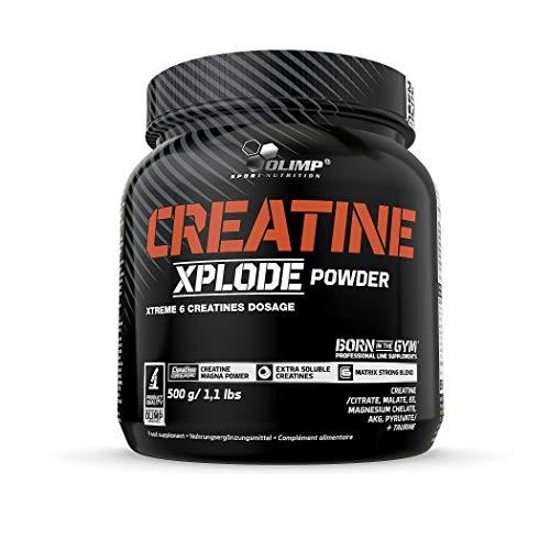Olimp Creatine Xplode Powder   6 Creatines Blend   Kreatin in Pulverform   Orange Geschmack   500 g -