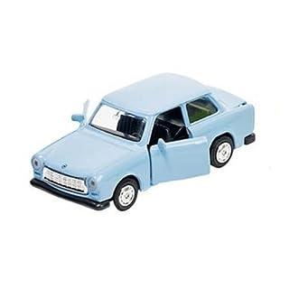 Trabant blau Trabi Trabbi DDR Modellauto 11 cm
