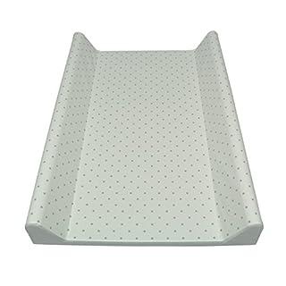 Asmi Folien Wickelauflage Wickelmulde Dots Kleine Pünktchen 70 X 50 (Dots Grau)