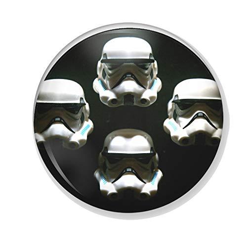 Gifts & Gadgets Co. Kühlschrankmagnet Star Wars Stormtrooper Bohemian Rhapsody 38 mm klein Bedruckt, rund