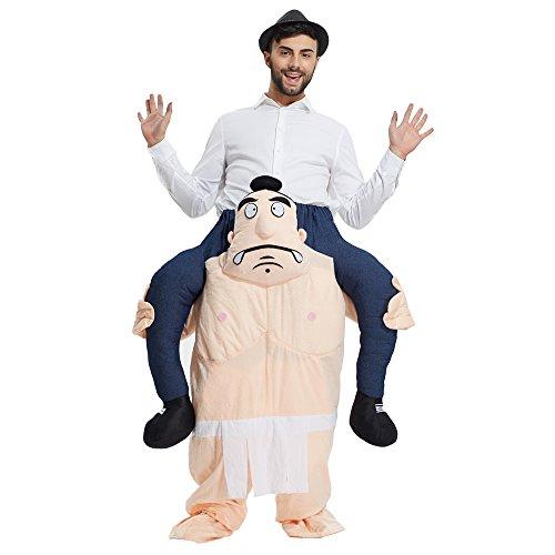 Mymgg Erwachsene Unisex-Maskots Kostüme Dummies Leg Pants Weihnachten Lustige Kostüme Geeignet Für Die Höhe 160-190Cm,B