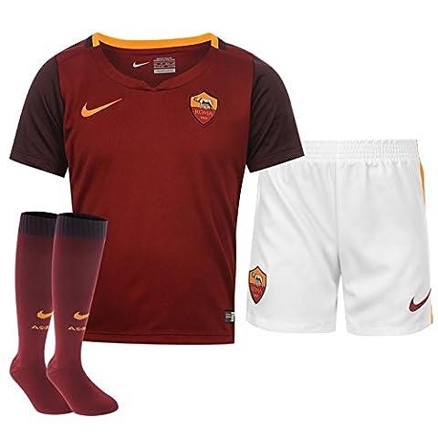 2015-2016 AS Roma Home Nike Little Boys Mini Kit