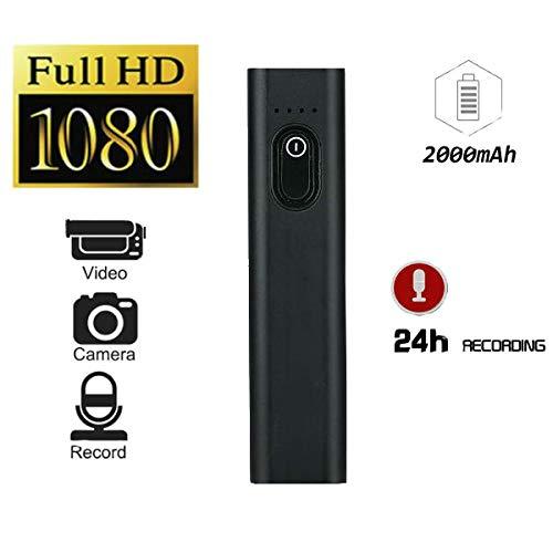 Hangang Mini versteckte Kamera 2000 mAh/ 1080p/10 Stunden kontinuierliche Aufzeichnung