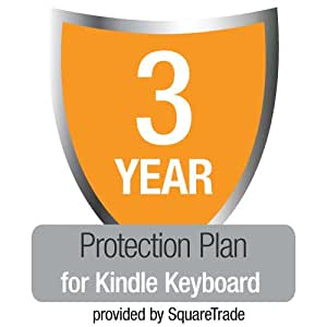 3-Year SquareTrade Warranty + Accident Protection for Kindle Keyboard (Wi-Fi)
