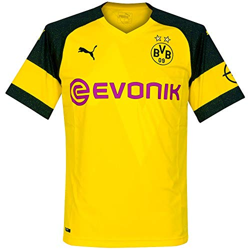 ce7820a7d6585 Puma Bvb Shirt Replica Evonik with Opel Logo Maillots Homme