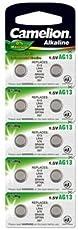 Batterie Knopfzelle 10 Stück LR44 Camelion Plus Alkaline