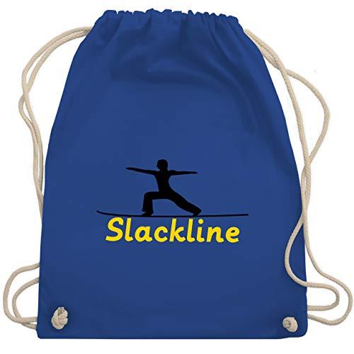 Sonstige Sportarten - Slacklinen - Unisize - Royalblau - WM110 - Turnbeutel & Gym Bag