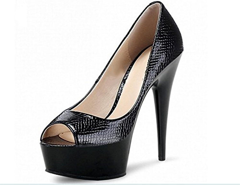 15 Heels Nightclub High Stilettos Nvxie Cm Chaussures Super Sandales gxwFOz5zq4