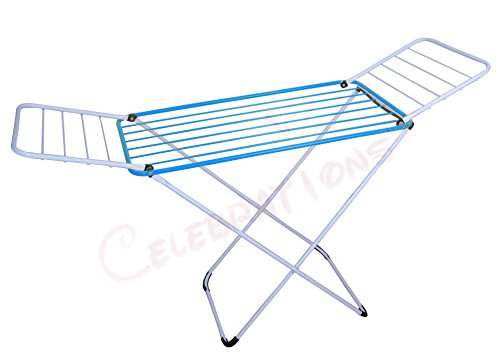 Celebrations Fast Dry Cloth Dryer Stand in Mild Steel
