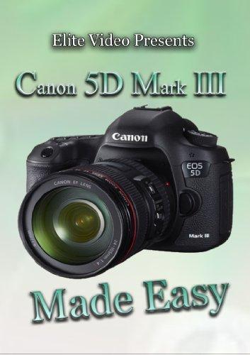 Preisvergleich Produktbild Canon 5D Mark III Training DVD Made Easy by John Cooksey