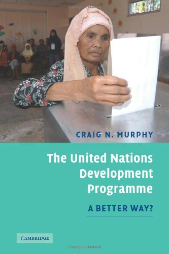 The United Nations Development Programme Paperback: A Better Way?