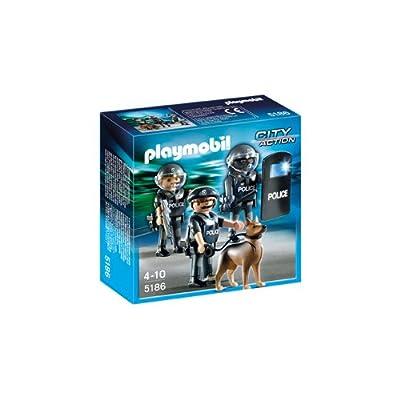 Playmobil Policía: unidad especial (5186)