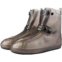 f70508b04f43b8 Dfghbn Wasserdichte Schuhe Covers Wiederverwendbare Männer Frauen Kinder  Rutschfeste Regen Überschuhe Outdoor Gartenarbeitsschuhe (Farbe