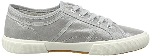 Brax Damen Schnürschuhe, Baskets Basses Femme Argent - Silber (092 argento)
