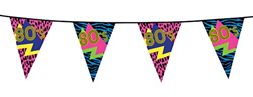 Boland 44600 fanions années '80, multicolore