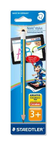 Staedtler 11920-30BK Noris stylus Schreiblernbleistift für Jungs, hellblau
