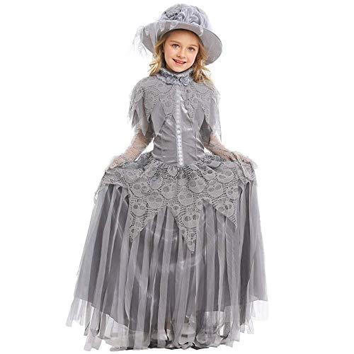HCFKB Halloween-Kostüme for Mädchen Scary, Ghost Bride Dress Halloween (Size : M) (Tintenfisch Kostüm Mädchen)