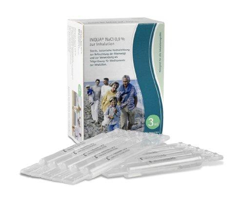 Inqua NaCl 0,9% Inhalationslösung 502G0300, 30 Ampullen á 3 ml