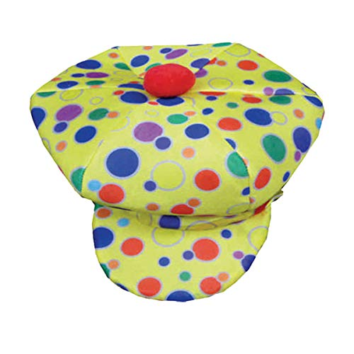 Dress Up America 619.0 Polka Dot Clown Hut, Blau, - Ringling Bros Clown Kostüm