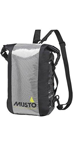 Musto Essential Waterproof Folio Rucksack Rucksack Tasche Schwarz - Essentials Tasche