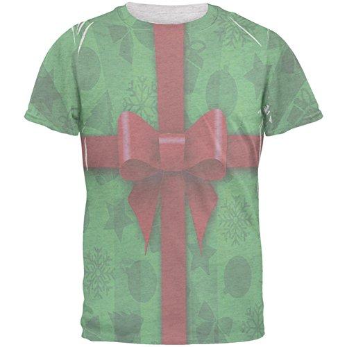 Grüne Weihnachten vorhanden Kostüm-Herren-T-Shirt White