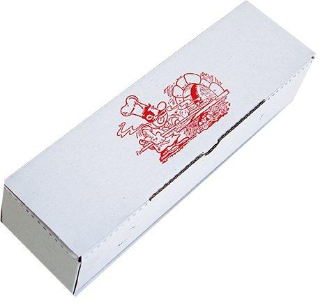"200 ""Rollo"" Pizzakartons • 70 x 80 x 280 mm • Pizzaschachtel • Pizzaboxen • Pizzaverpackung • Model: Rollo"