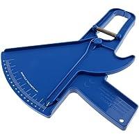 FLAMEER Fat Caliper Fitness Gym Body Fold Tester Medida De La Piel Calipers Fitness Gym - Azul