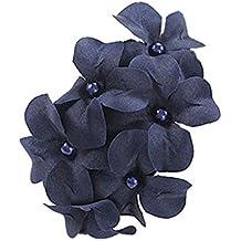 Cdet Seis pequeña horquilla de flores boda accesorios de pelo partido para las mujeres y las