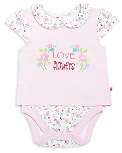 FS Mini Klub Baby Girls' Dress (83082E PI9-12M, Pink, 9 -12 Months)  available at amazon for Rs.274