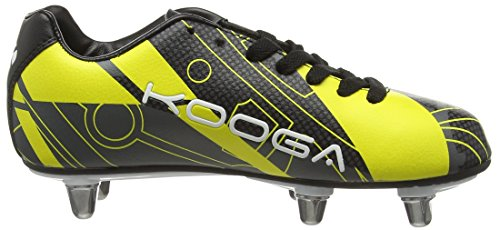 Kooga Evade Junior, Chaussures de Rugby garçon Bleu (Blue/Grey)