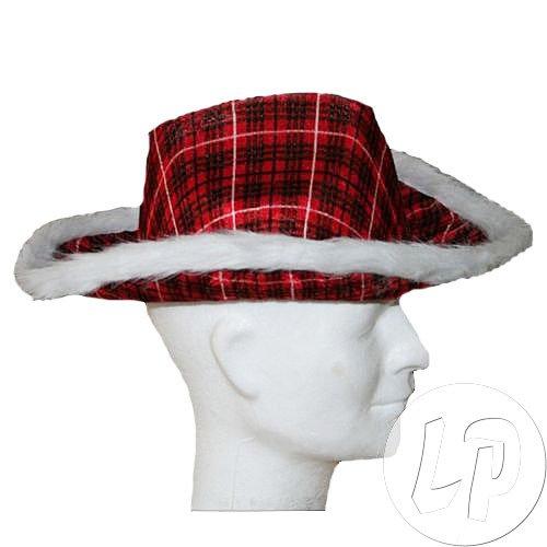 Hut Cowboy rot schottischen–Qualität coolminiprix®