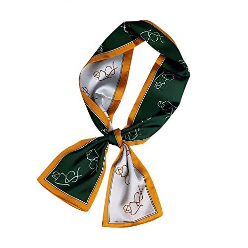Kostüm Baby Toast - Crylee Headband Mode Fliege Doppelseitige langen Abschnitt Schal Schal weibliche koreanische Version des Frühlings und Herbst wilde Wrist Band Streamer Haarband