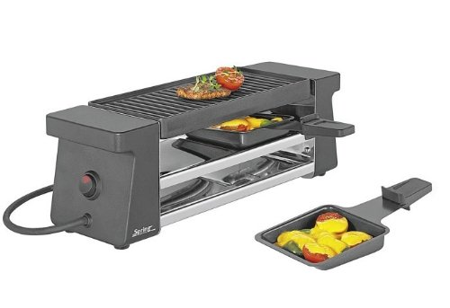 Spring Schwarz Raclette 2 Compact