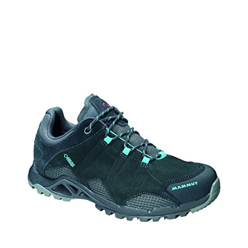Mammut Comfort Tour Low GTX Surround Women - Wanderschuhe - graphite/light pacific 38