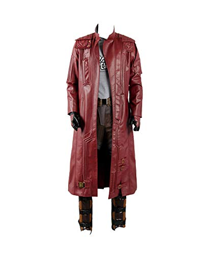 Guardians of The Galaxy 2 Peter Jason Quill Starlord Cosplay Kostüm nur Mantel Herren XXXL (Guardians Galaxy Kostüm Starlord The Of)