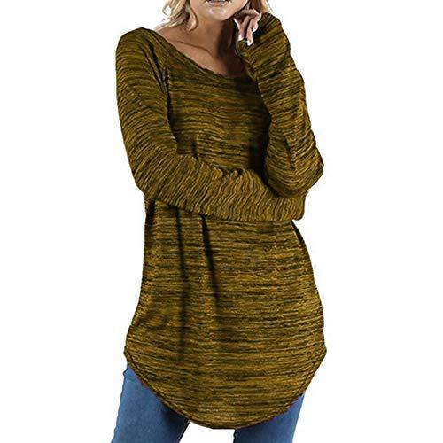 Camisas Mujer,Camisetas Mujer Casual Blusa Manga Larga
