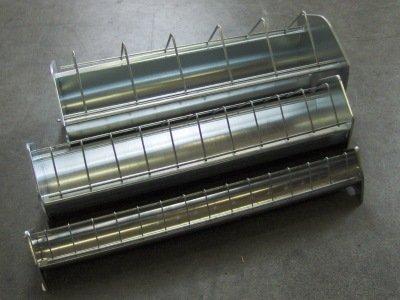 KLAUS - Junghennentrog Metall 11x75 cm