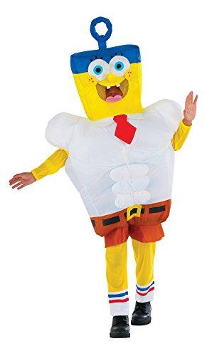 Imagen de disfraz de bob esponja la película hinchable para niño
