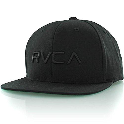 rvca-twill-snapback-schwarz
