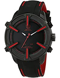 Shark SH384 - Reloj , correa de silicona color negro