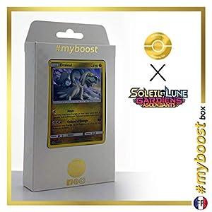 Draïeul (Drampa) 97/145 Holo - #myboost X Soleil & Lune 2 Gardiens Ascendants - Box de 10 Cartas Pokémon Francés
