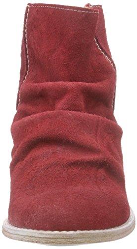 Buffalo London - Es 30683 Suede Enrugado, Stivali Donna Rosso (Rot (RED232))