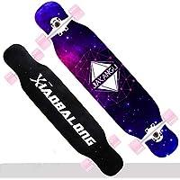 Weiyue patineta- Patineta Principiante Longboard Scooter de Cuatro Ruedas para jóvenes (Color : B