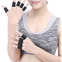 Luwu-Store Protector de Dedos Soporte de Manga Baloncesto Ayuda Deportiva Artritis
