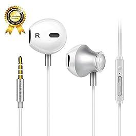 GAMURRY Auricolari,Cuffie con cancellazione del rumore,Auricolare In-Ear Bassi Potenti Alta Definizione con Microfono e…