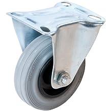 FIXMAN 873019 - Rueda fija de goma (100 mm, 70 kg)