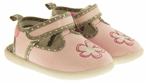 De Fonseca Tinello Toile Ouverts à l'Arrière d'Eté Chaussures Garçons Filles Bébé Rose