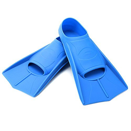 Elemart Elemart Swim Training Fins - Short Blade Floating Fins Perfect for Snorkeling Diving & Swimming
