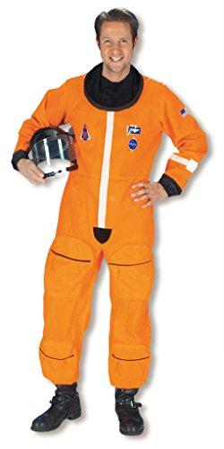 Astronauten Overall als Raumfahrer Kostüm L