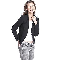 VERO MODA Women's Blazer (10138067_Black_42)